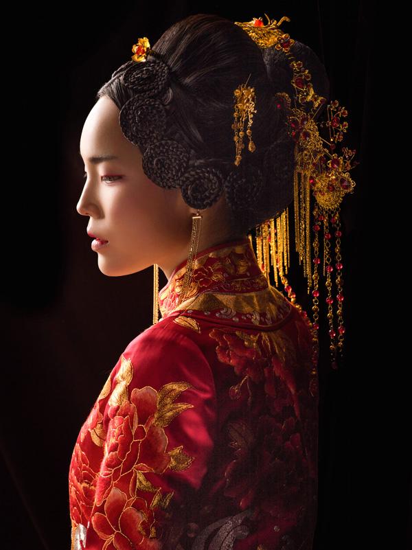 中式吉服/喜服:富贵如意·华露