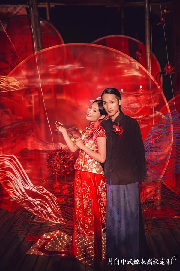 新中式嫁衣:龙凤呈祥·嘉禾