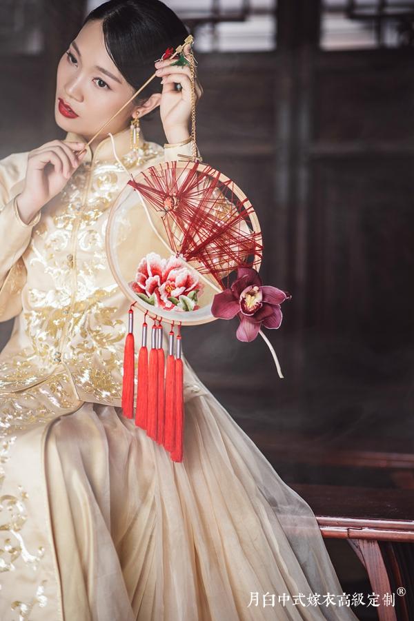 中式吉服/喜服:金玉满堂·流光