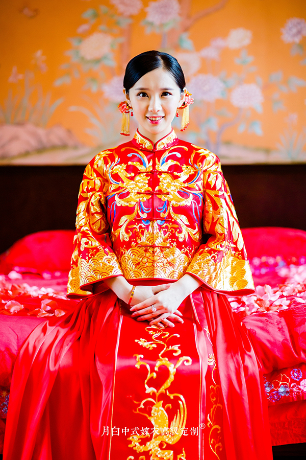中式吉服/喜服:鸾凤和鸣·采鳴