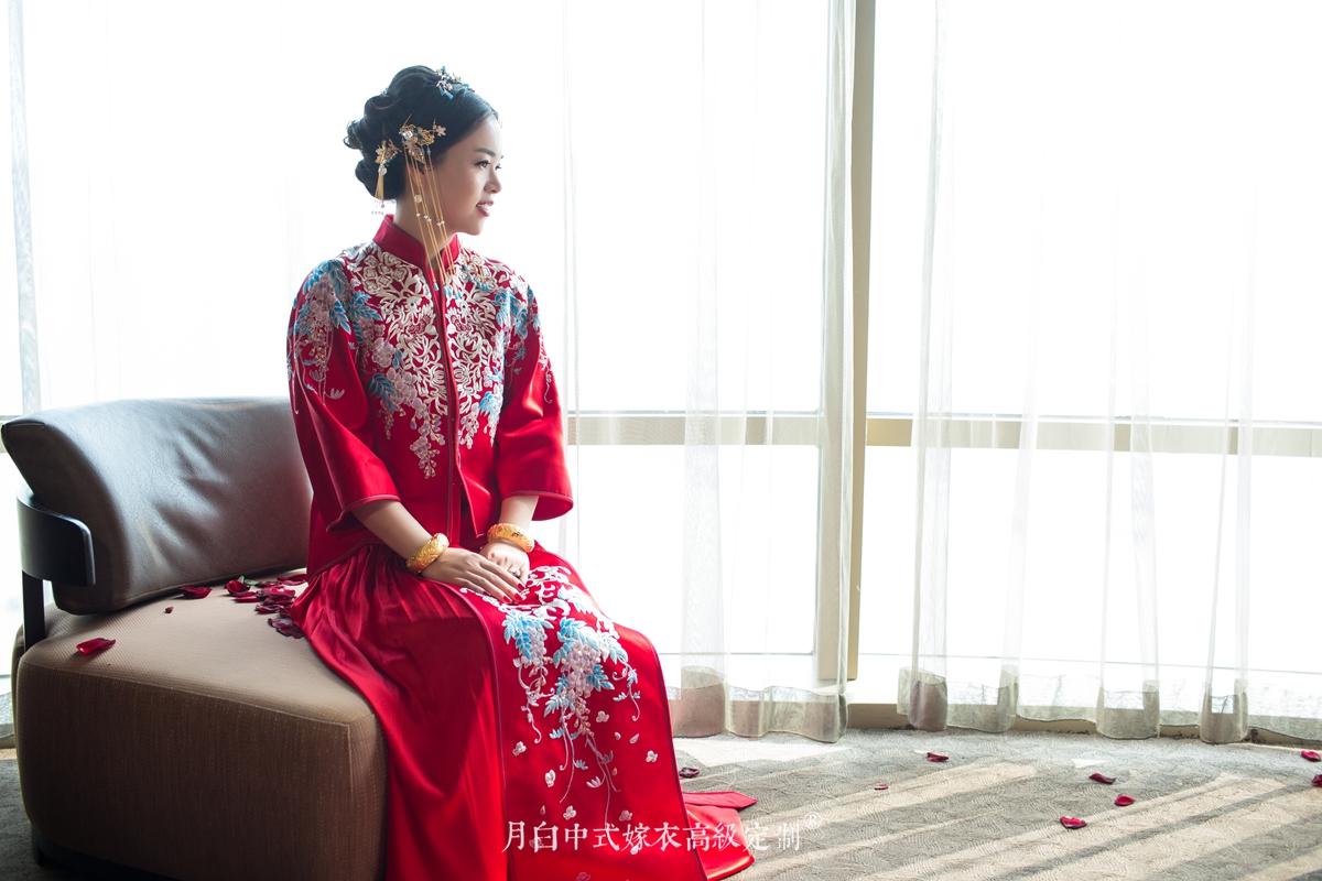 中式吉服/喜服:百花朝凤·绘影