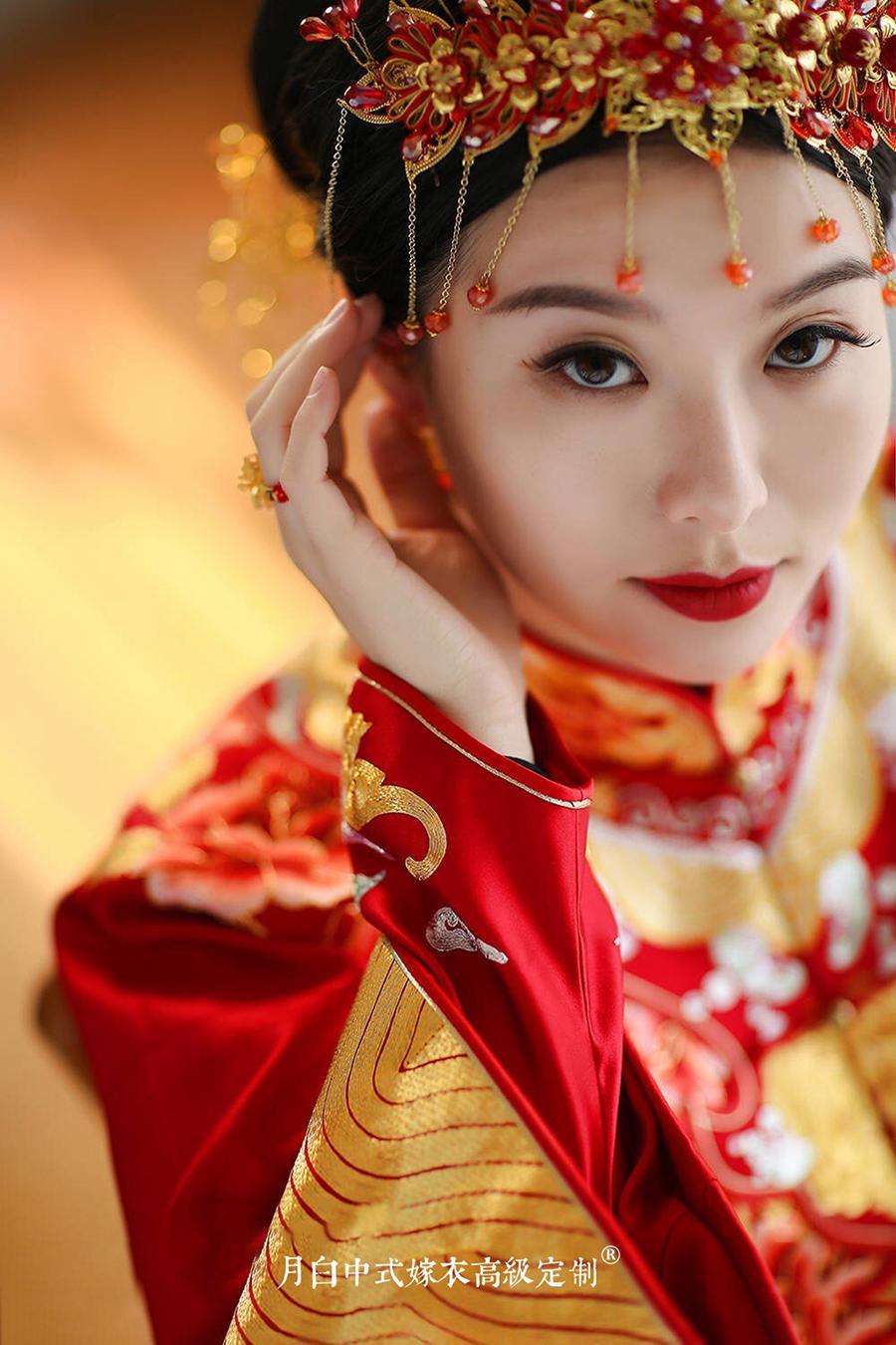 中式吉服/喜服:富贵如意·琼筵