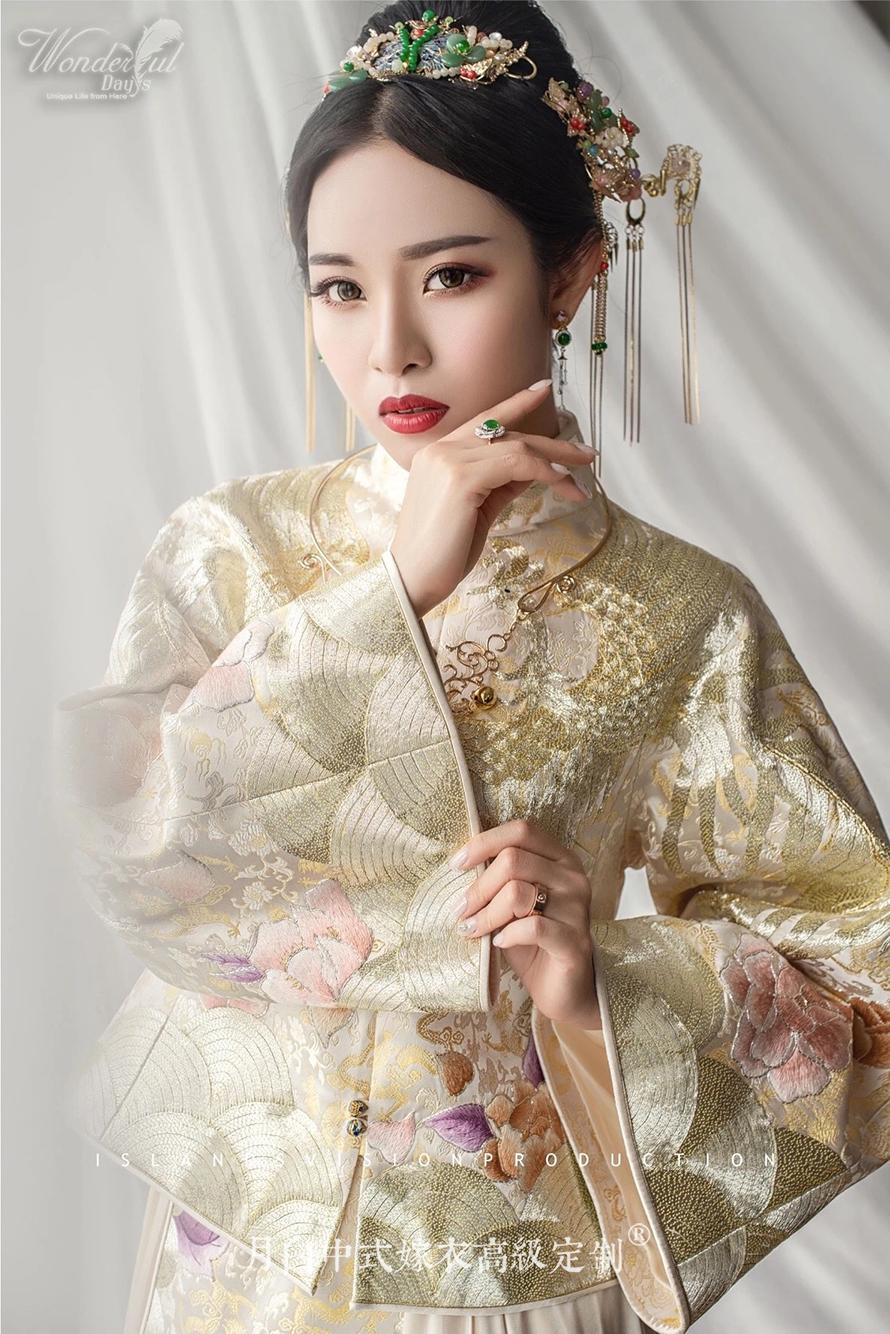 中式吉服/喜服:金玉满堂·凤衾