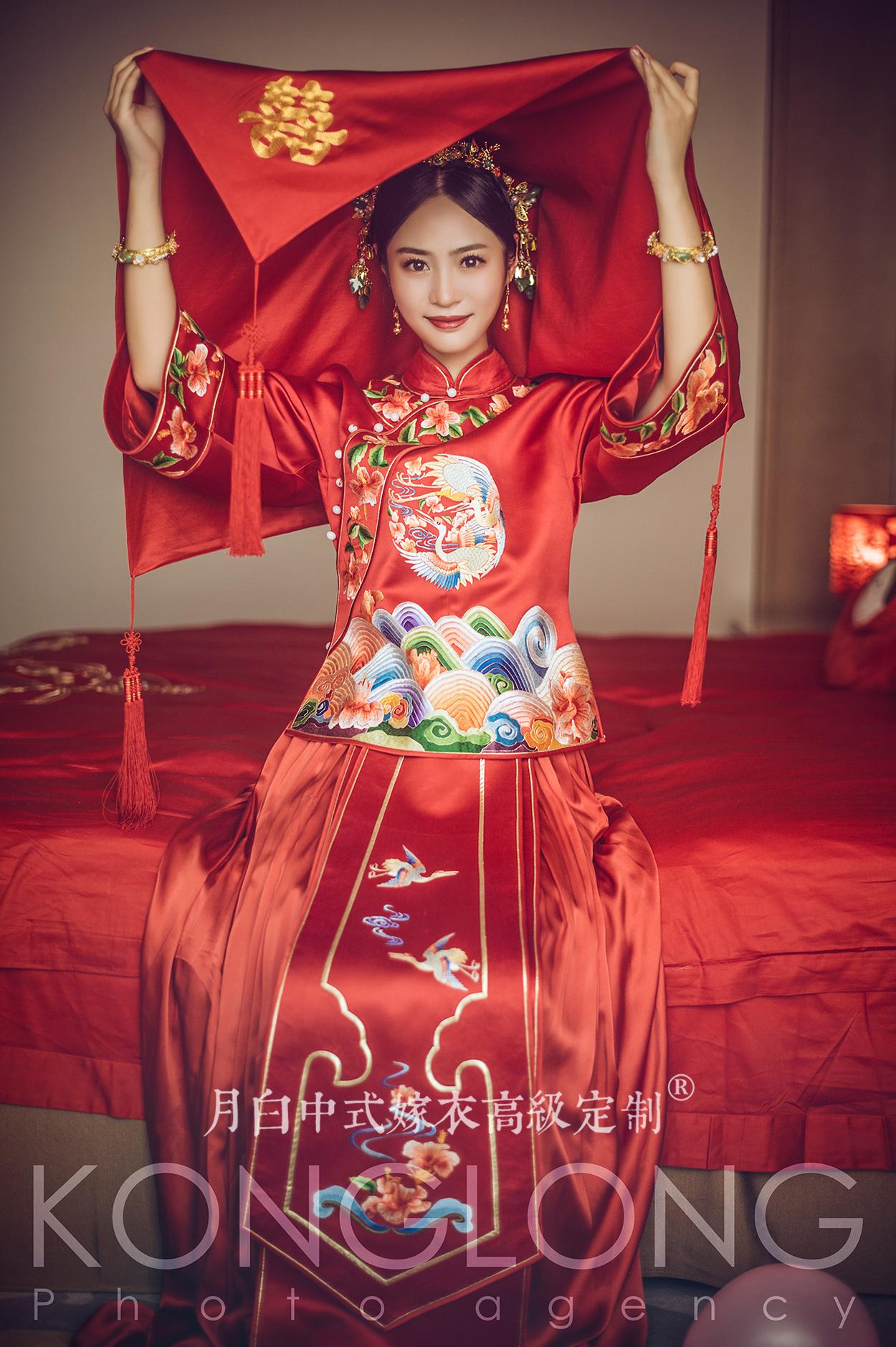 中式吉服/喜服:祥瑞如意·芳华