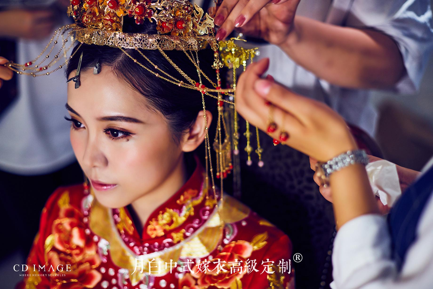 中式嫁衣:富贵如意·洳玉
