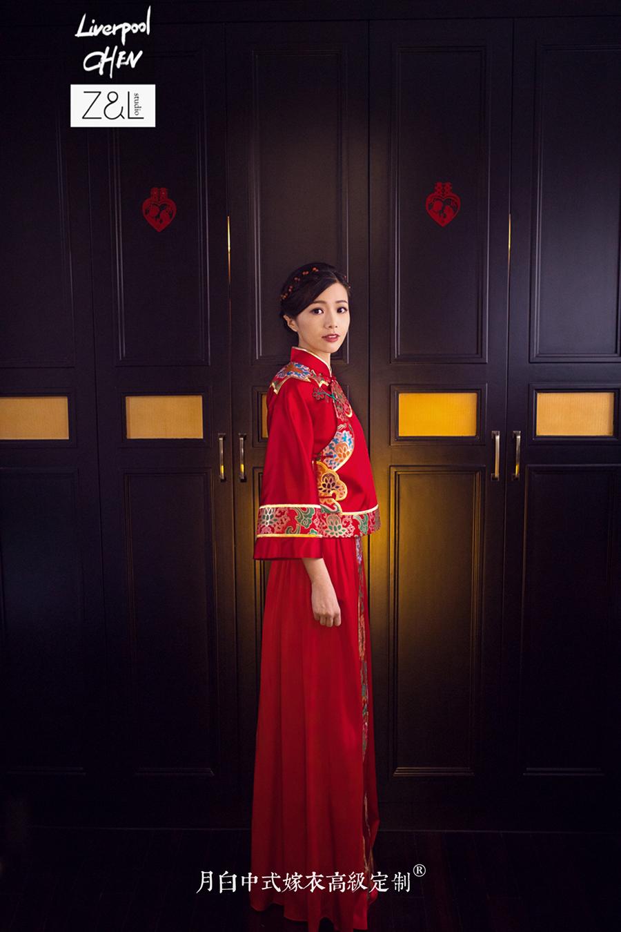 中式吉服/喜服:祥瑞如意·翠琇
