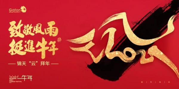 """锦天""""云""""拜年 新春阖家欢"""