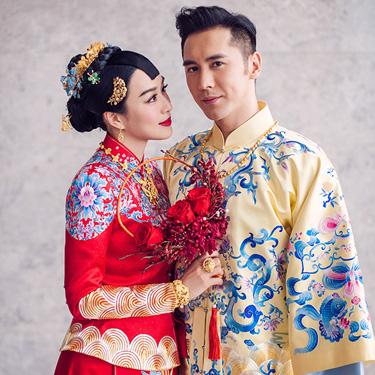 """""""人鱼夫妇""""大婚 新娘感动喊话:下辈子早点娶我"""