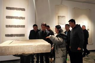 西安旅游集团党委书记、董事长毋文利考察汉唐石刻博物馆