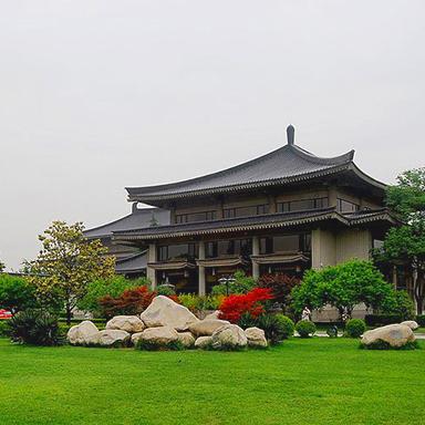 陕西历史博物馆英文版网站设计